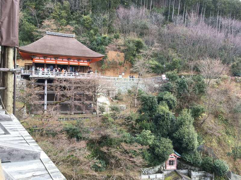 清水寺から撮影