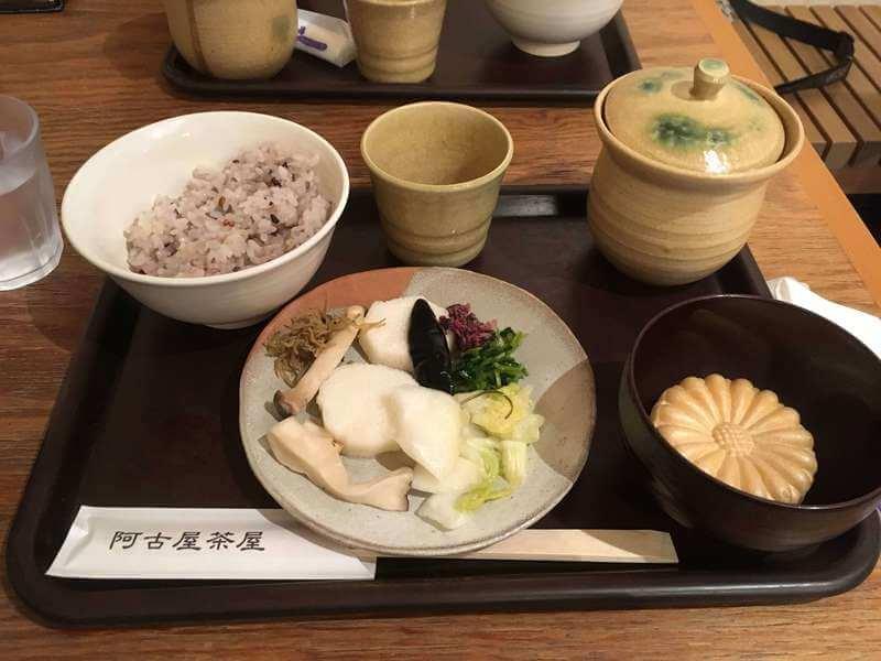 お昼ご飯は阿古屋茶屋